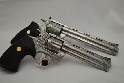 Beathard Engraving - Revolvers Gallery